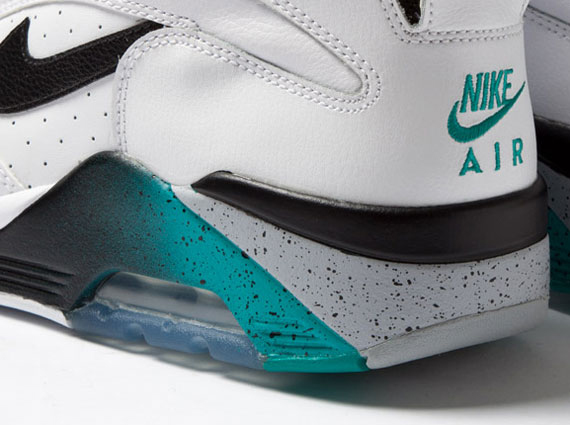 8d5a278a3b1b Nike Air Force 180 High - White - Teal - Grey - Black - SneakerNews.com