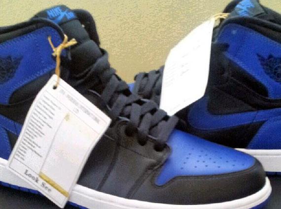 Air Jordan 1 Black Royal Blue Sneakernews Com