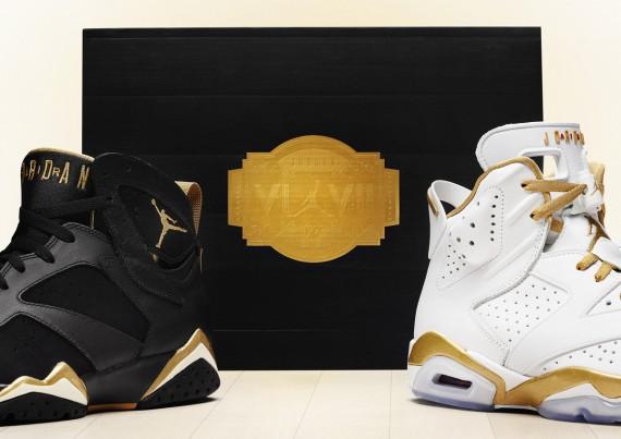 """best loved af7a1 342e5 Air Jordan """"Golden Moments"""" Pack – Official Images"""
