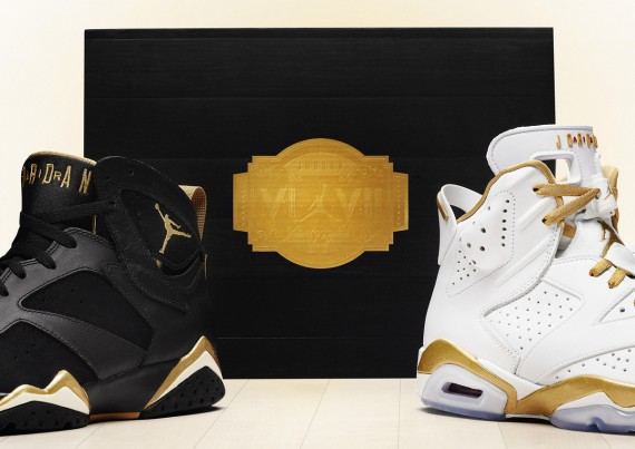 "best loved c08ad 8b6d0 Air Jordan ""Golden Moments"" Pack – Official Images"