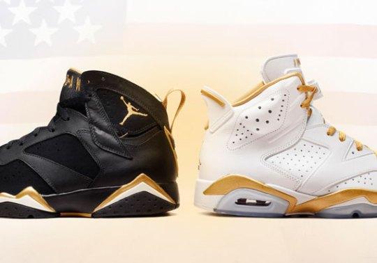 """Air Jordan """"Golden Moments Pack"""" – Foot Locker Release Info"""