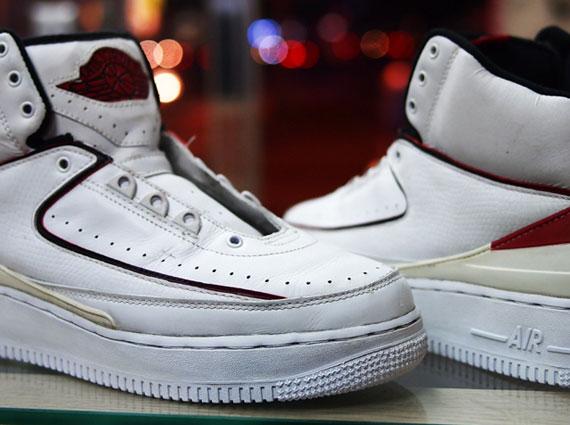 Air Jordan II x Nike Air Force 1 Sole Swap