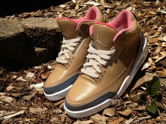 Air Jordan III quot Threezyquot Cusshoes By DeJesus