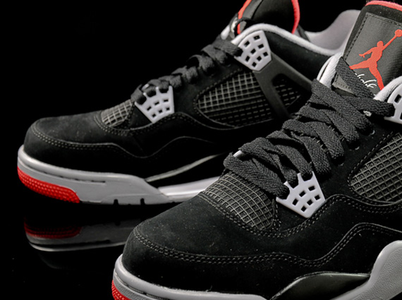black red air jordans