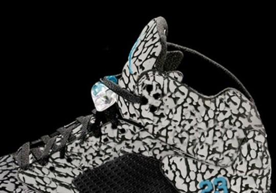 Air Jordan V Doernbecher Rendering