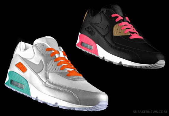 Nike Id Air Max 90 Id Nike New Fall 2012 Options 11792f