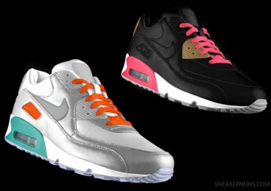 Nike Air Max 90 iD – New Fall 2012 Options