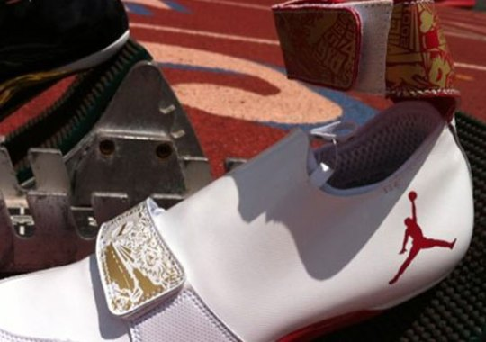 April Holmes Air Jordan XX Inspired Track Spikes