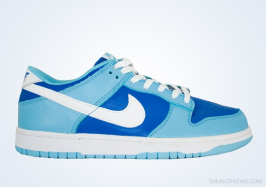 """Classics Revisited: Nike Dunk Low """"Argon"""" (2002)"""
