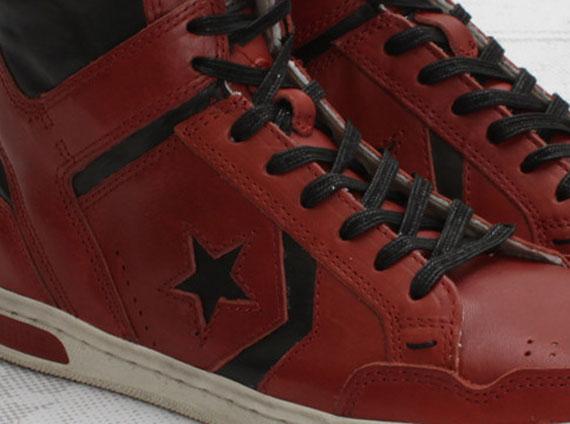 timeless design 192b7 08480 Converse John Varvatos Weapon Mid - Faded Rose - SneakerNews.com