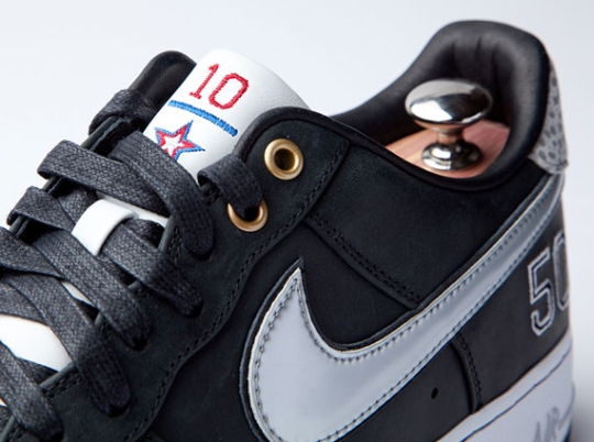 "Nike Air Force 1 Bespoke ""David Robinson"" by Layupshot"