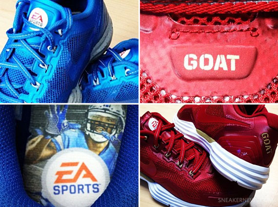 "huge discount d6221 5b0ee EA Sports x Nike Lunar TR1+ ""Calvin Johnson"" + ""Jerry Rice"""