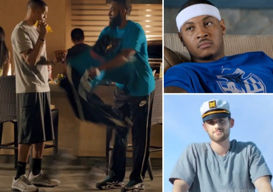 Foot Locker #Approved With NBA Stars