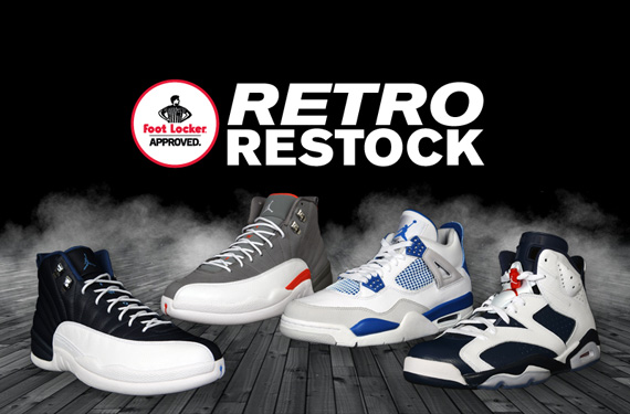 low priced 5b8ec d76c0 Air Jordan Retro Restock   Foot Locker House of Hoops - SneakerNews.com