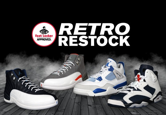 Air Jordan Retro Restock @ Foot Locker House of Hoops
