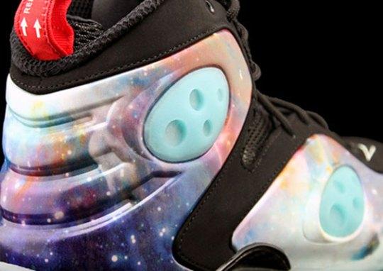 """Galaxy"" Nike Zoom Rookie – Glow in the Dark"