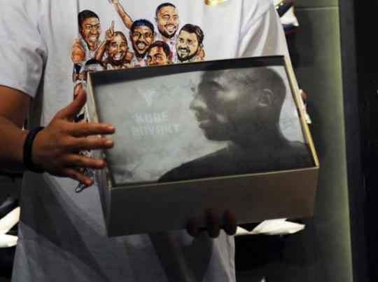 """Nike Zoom Kobe VII """"Gold Medal"""" Special Packaging"""