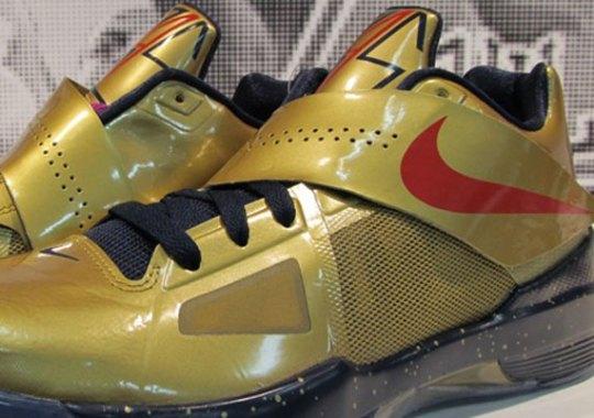 """""""Gold Medal"""" Nike Zoom KD IV"""
