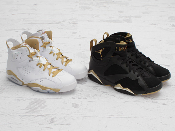 air jordan golden moments pack arriving at retailers