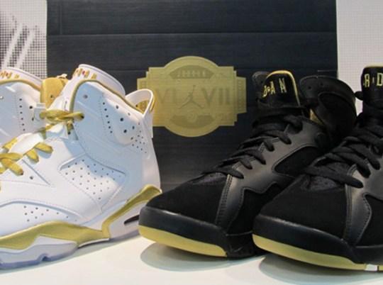 Air Jordan Golden Moment Pack – Release Date