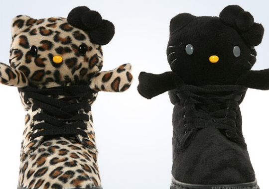 Hello Kitty x UBIQ Mascot Fatima – Leopard + Black