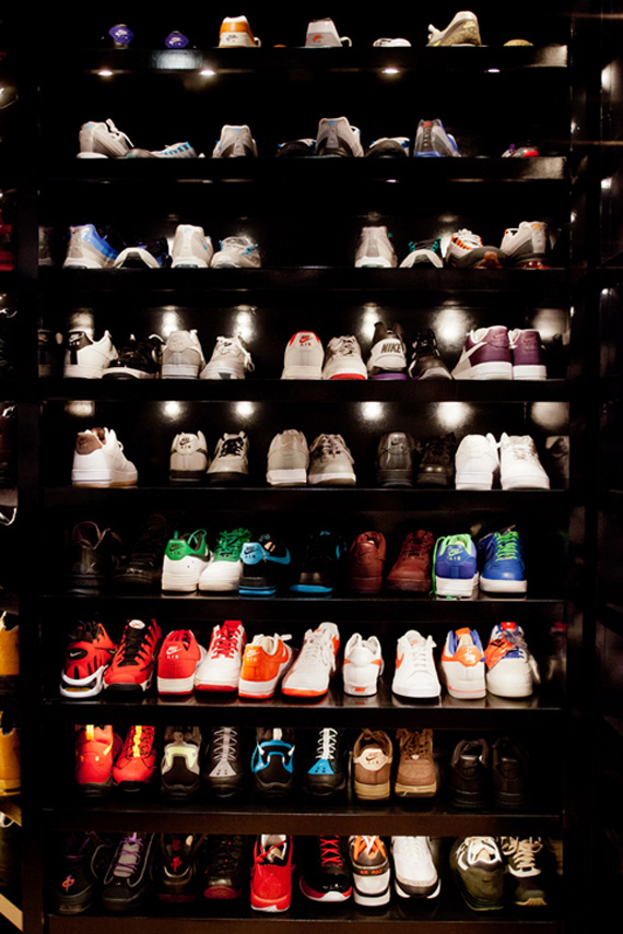Joe Johnsons Sneaker Closet