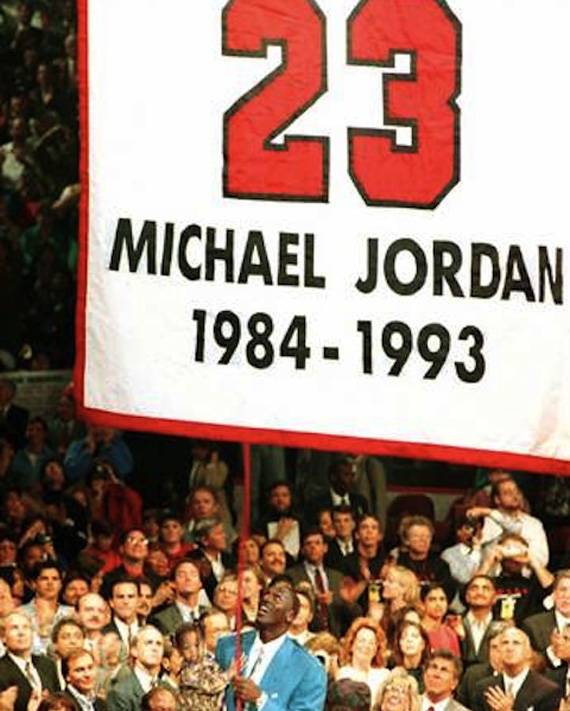 Michael Jordan Wearing Jordan  Shoes