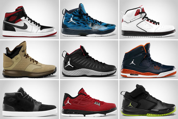 Jordan Brand October 2012 Footwear