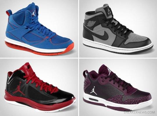 Jordan Brand September 2012 Footwear