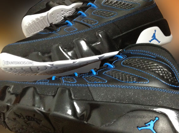 "Air Jordan IX ""Photo Blue"" Suffers Huge Factory Error"