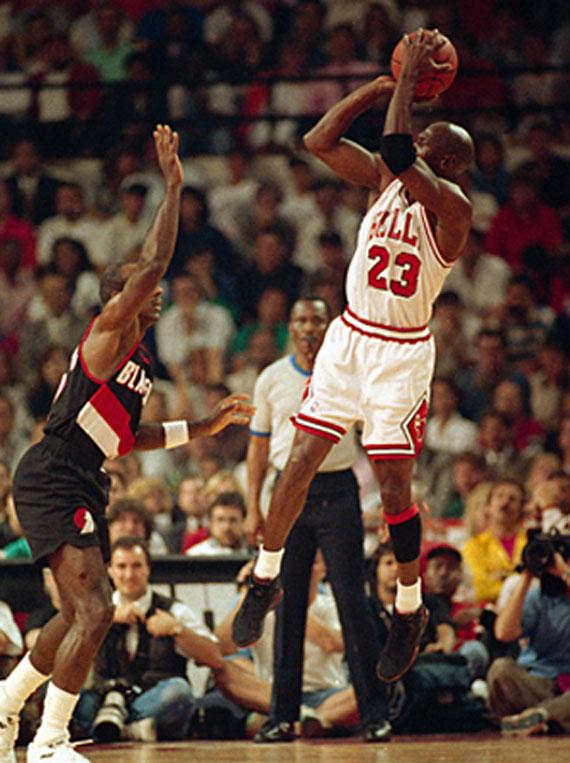 """Michael Jordan and """"The Shrug"""" - SneakerNews.com"""