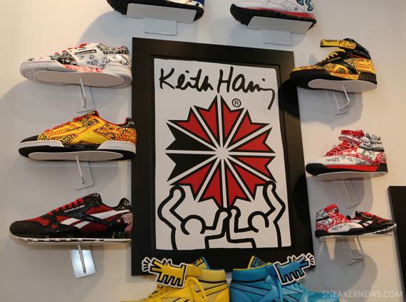 Keith Haring x Reebok Classics Spring 2013