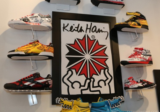 Keith Haring x Reebok Classics – Spring 2013