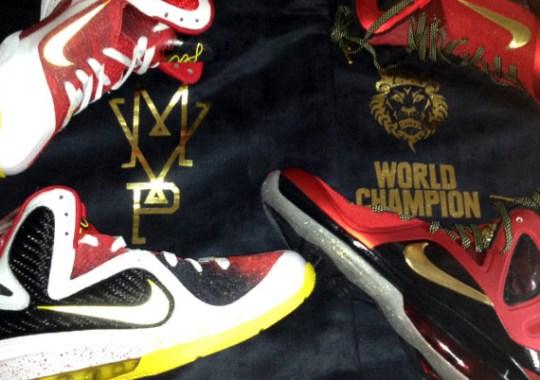 d5e70e99403a Nike LeBron 9 Championship Pack – Available on eBay