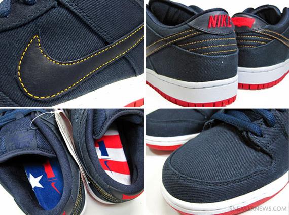 new arrival 164cc 8dd2b Levi's x Nike SB Dunk Low QS