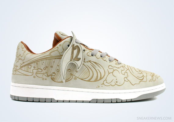 """ee678d0cb871 Classics Revisited  Chris Lundy x Nike Dunk Low """"Laser"""" (2003)"""