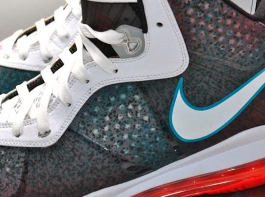"Nike LeBron 8 ""Flamingo/Miami Nights"" Sample on eBay"