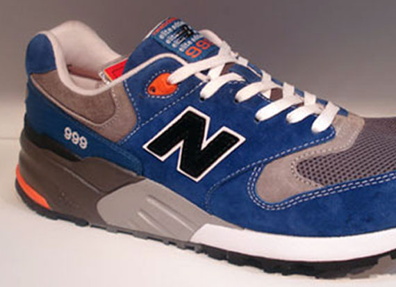 New Balance 999 Blue Grey Orange