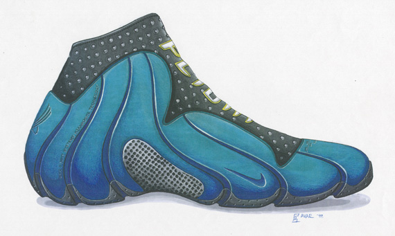 new arrival f1bb9 f99b1 20 Years Of Nike Basketball Design  Air Flightposite (1999 ...