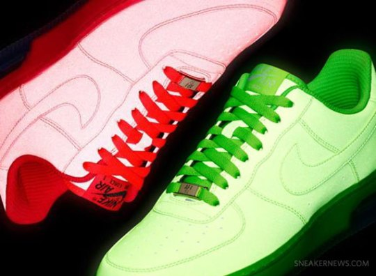 Nike Air Force 1 iD – Reflective Options – September 2012