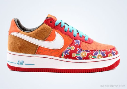 "Classics Revisited: Nike Air Force 1 Low ""Year of the Dog"" (2006)"