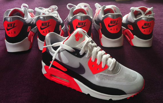 Nike Air Max 90 Hyperfuse Infrarød For Salg i95XDsZ2