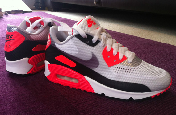 hyperfuse air max 90 infrared