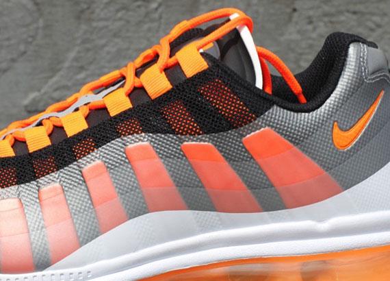 new arrival f0959 85cc0 Nike Air Max 95+ BB – Black – Total Orange
