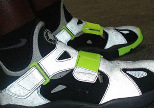 Nike Air Trainer Huarache '94 – Black – Strata Grey – Anthracite – Volt