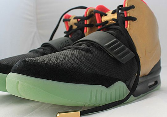 "Nike Air Yeezy 2 ""Imperial"" Custom by PMK"