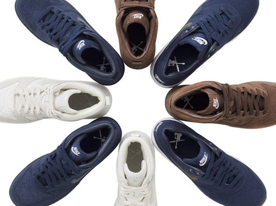 A.P.C. x Nike Dunk High Three Colorways