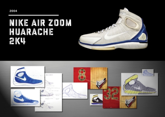 20 Years Of Nike Basketball Design: Air Zoom Huarache 2K4 (2004)