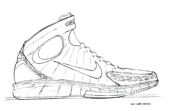 kd nike shoes coloring pages - photo#6