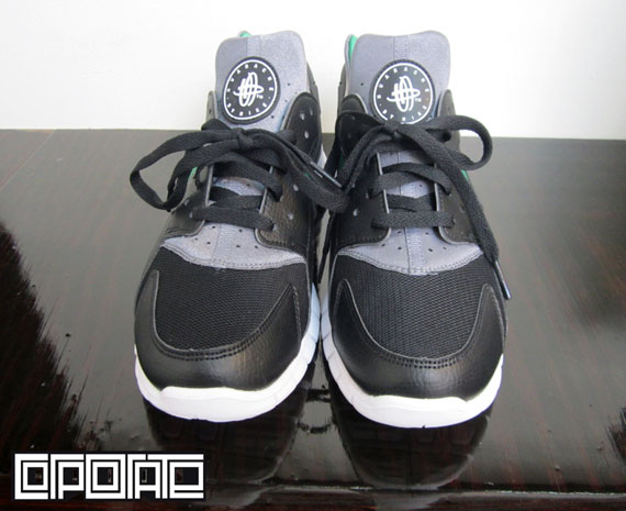 Nike Huarache Free Black Dark Grey